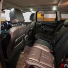 2013 Ford Kuga Titanium interior split folding rear seats
