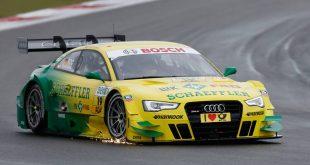 Audi Sport Team at DTM Nurburgring