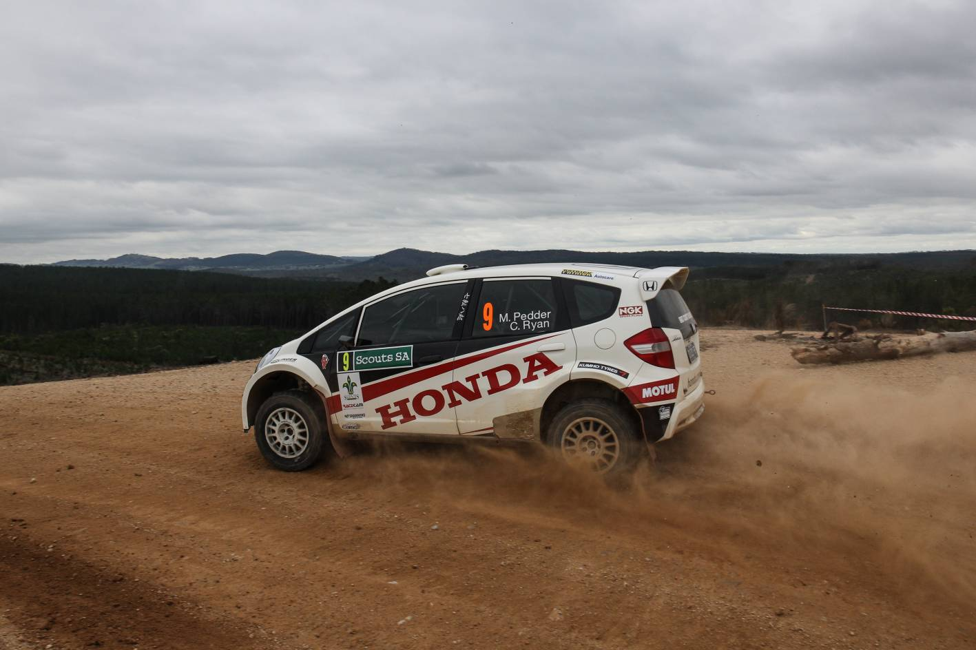 Honda cars news honda leaves australian rally for Honda civic rally car