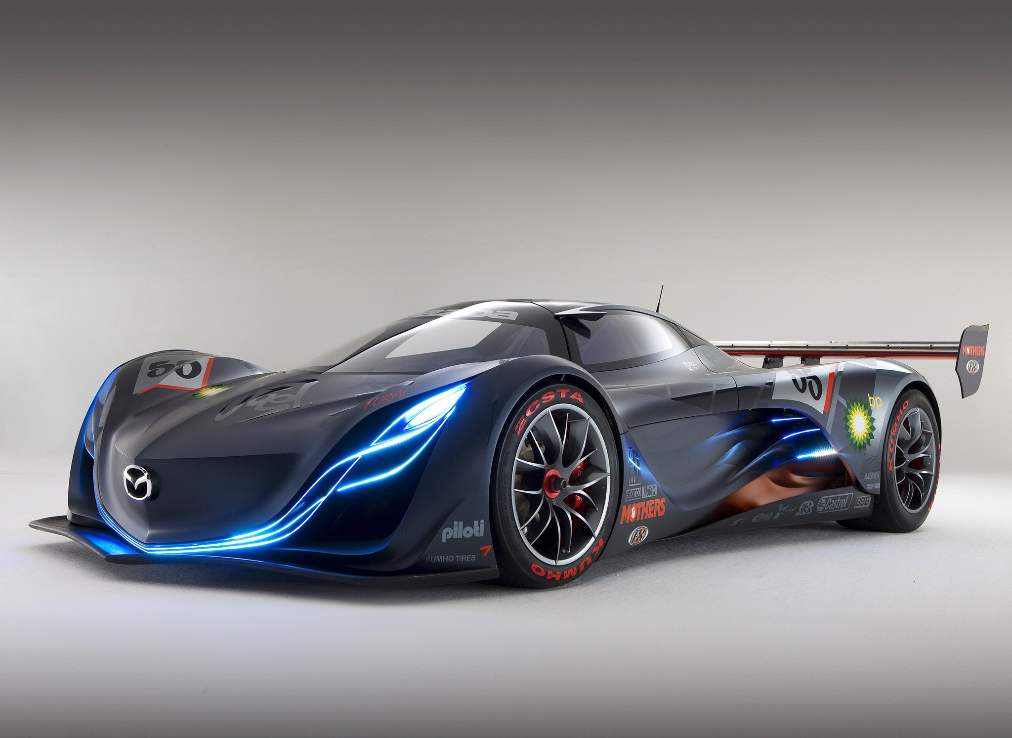 mazda cars news mazda furai concept reduced to shell. Black Bedroom Furniture Sets. Home Design Ideas