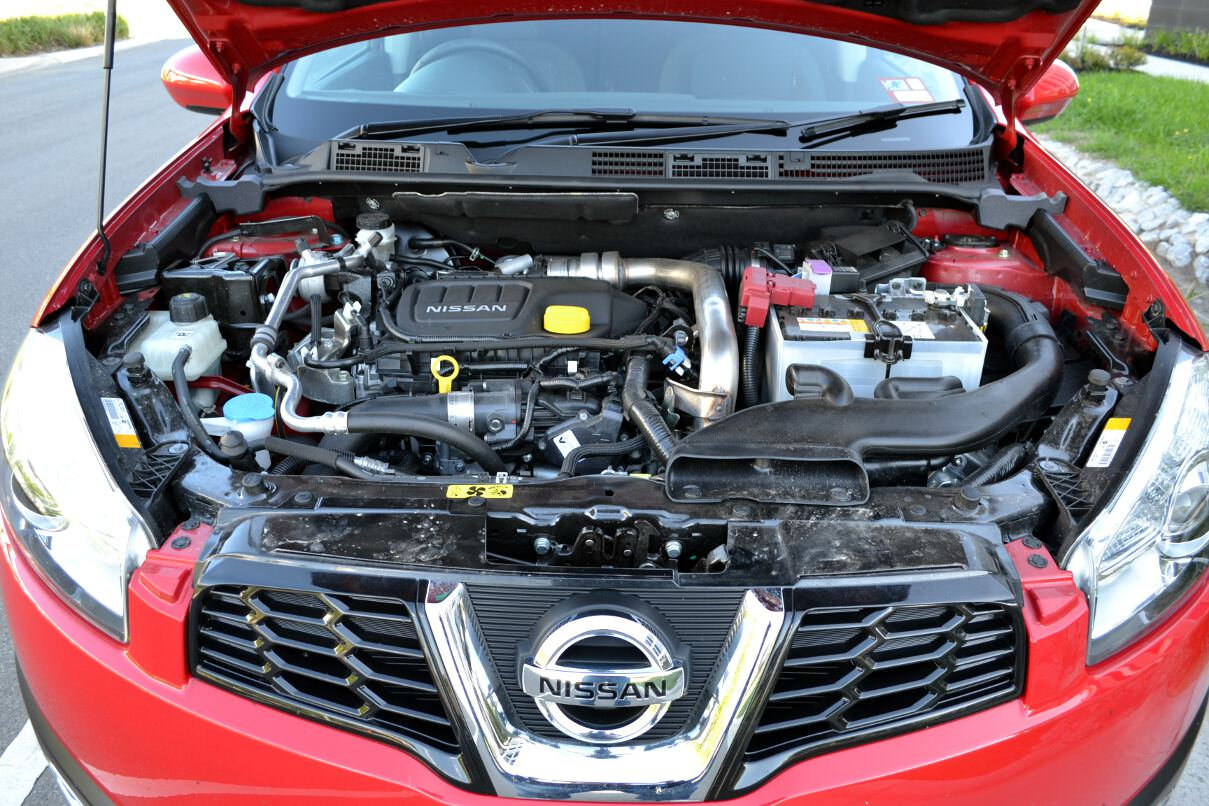 2013 Nissan Dualis Ts Engine Bay Forcegt Com