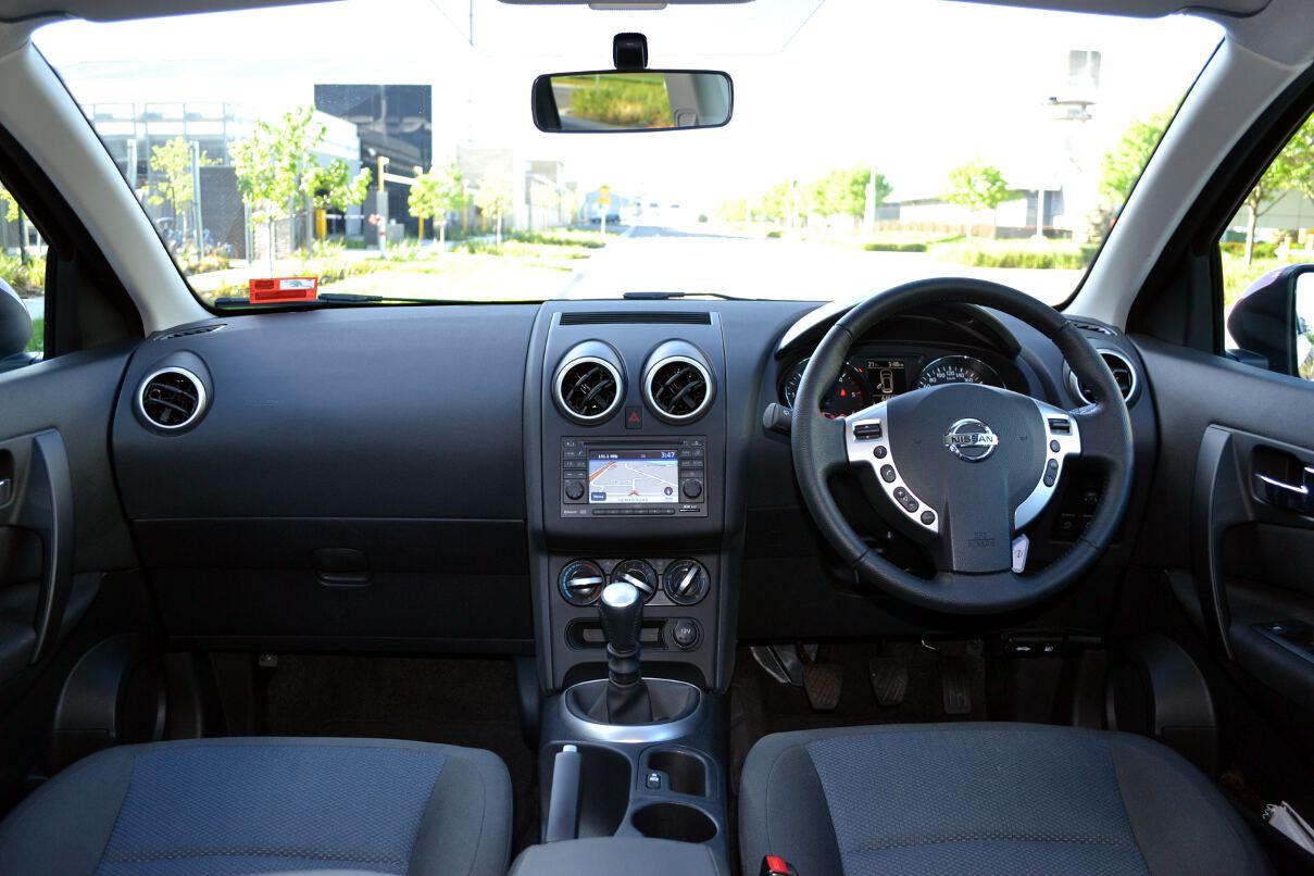 2013 Nissan Dualis Ts Interior Dashboard
