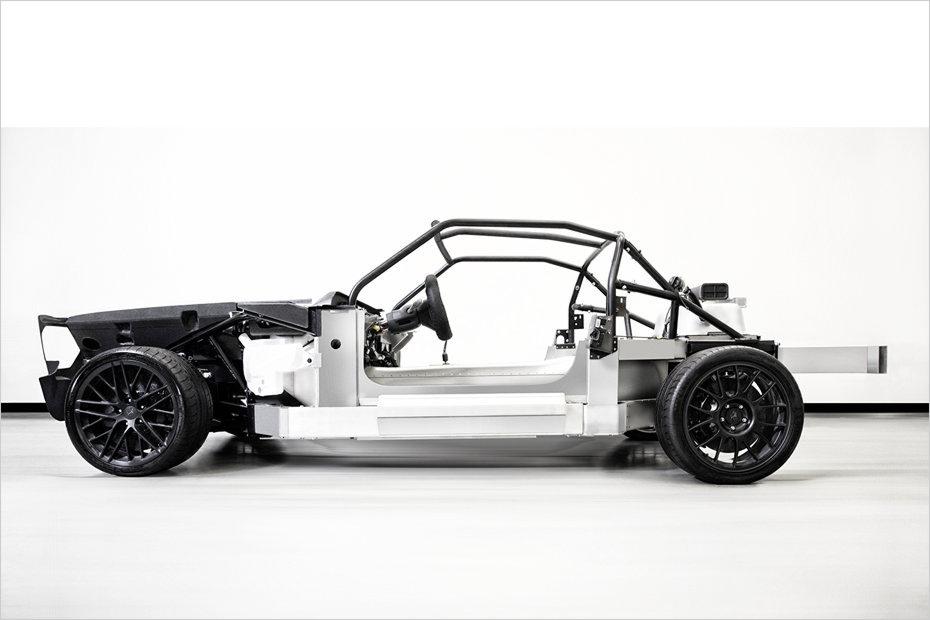 equus bass 770 aluminium chassis side