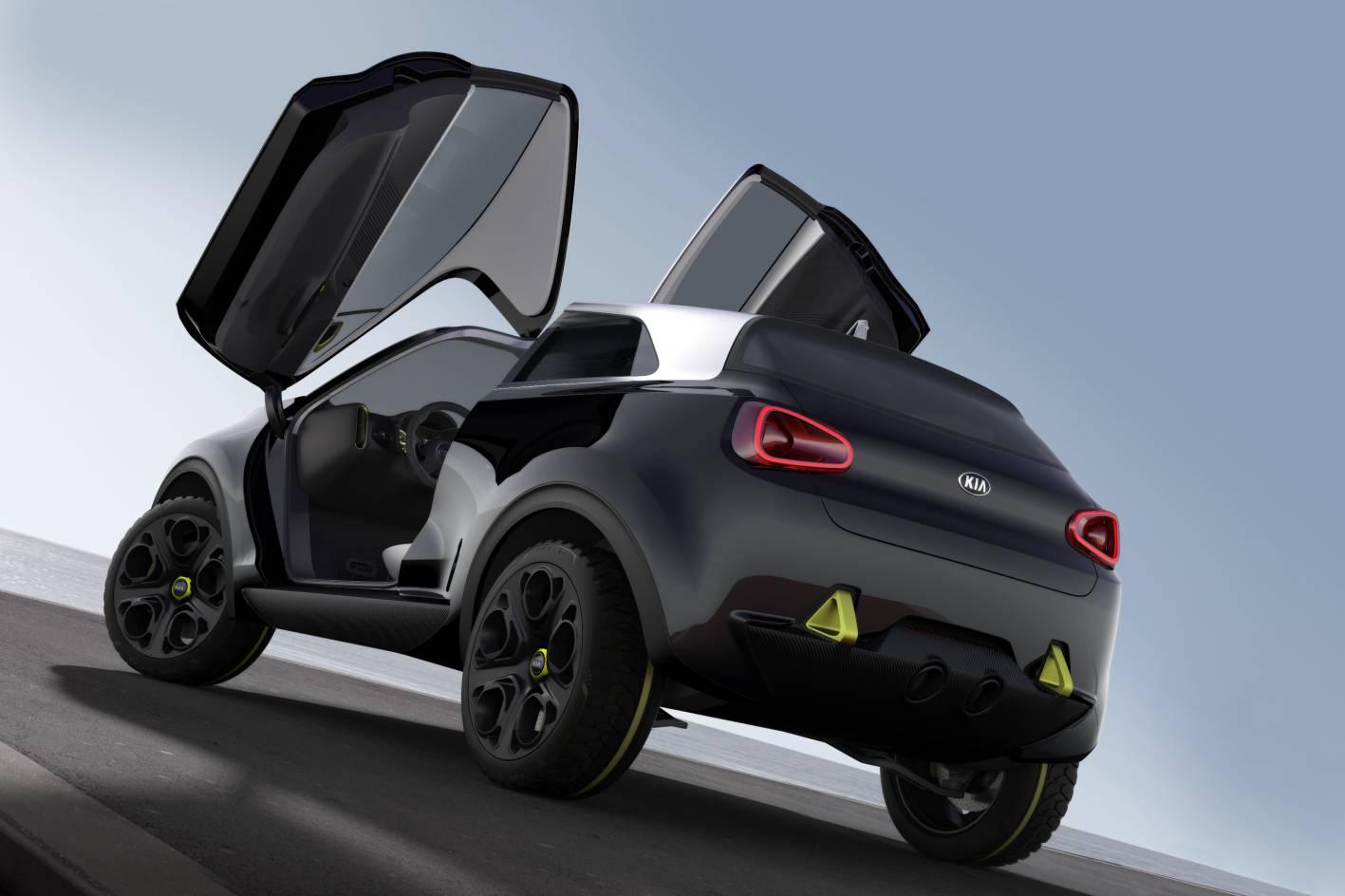 Kia Cars - News: Niro concept previews future city car