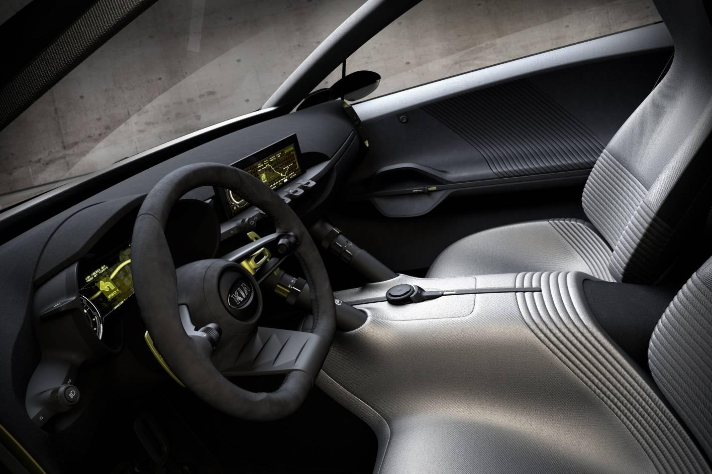 Kia cars news niro concept previews future city car - Kia niro interior ...