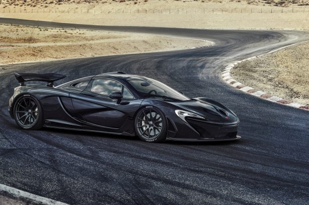 McLaren P1 side