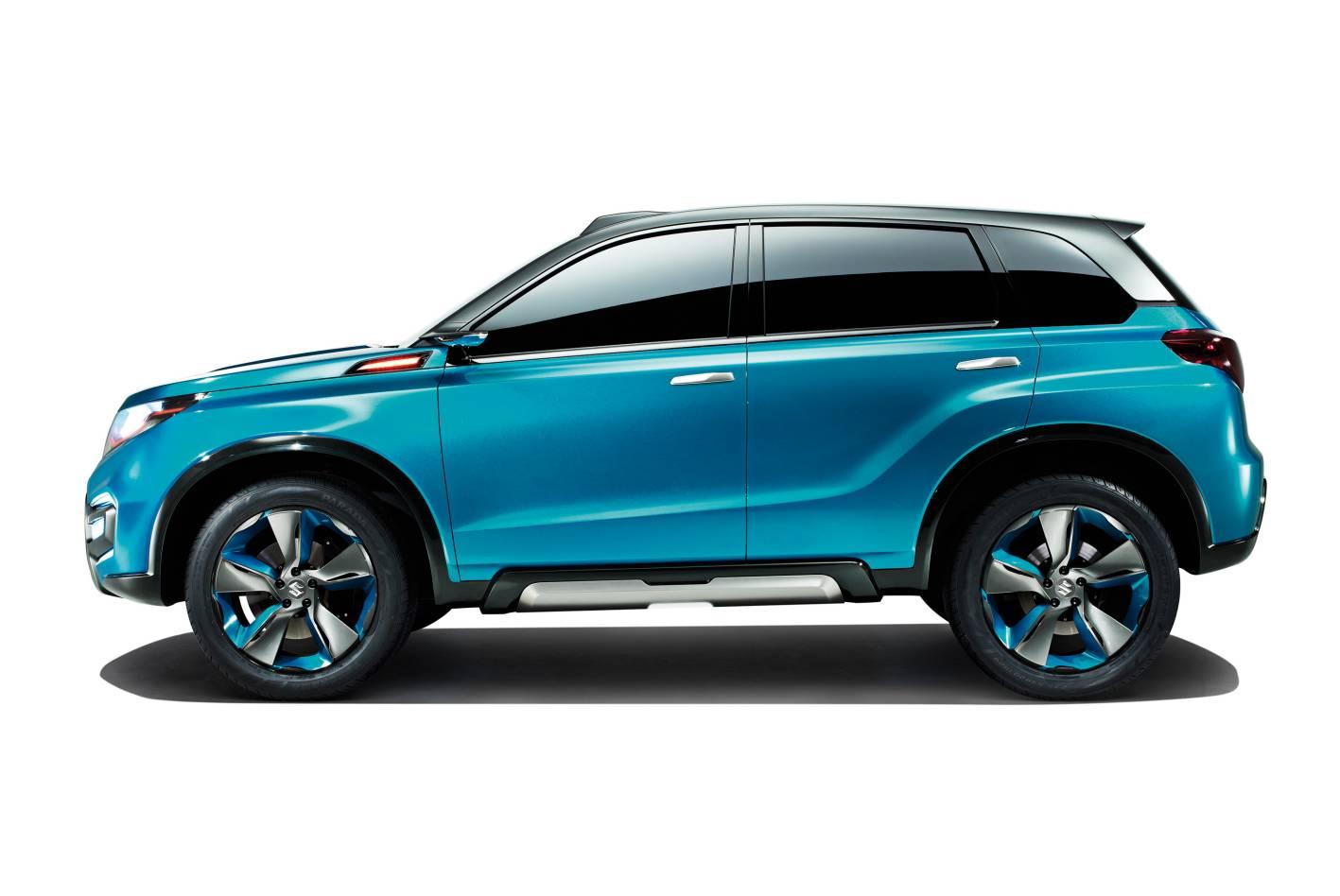 Suzuki Cars - News: iV-4 compact SUV hints at new Vitara