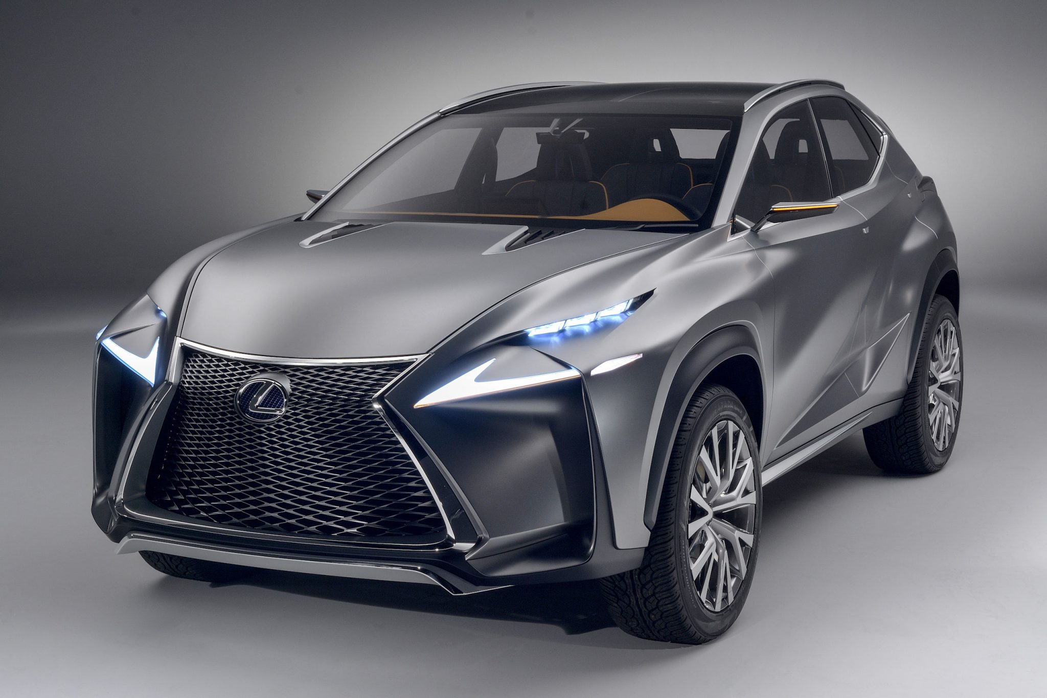 Lexus Cars - News: LF-NX concept revealed