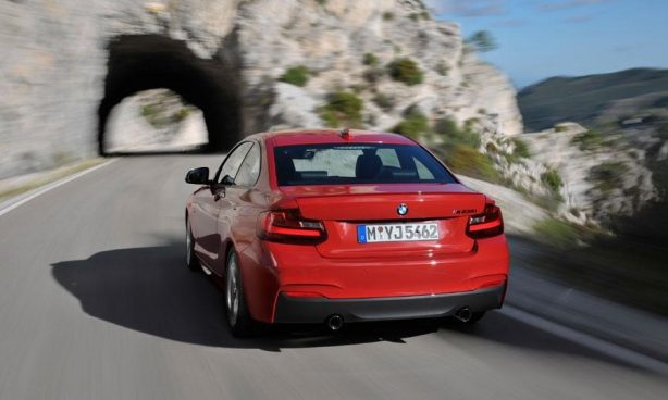 2014 BMW 2 Series rear