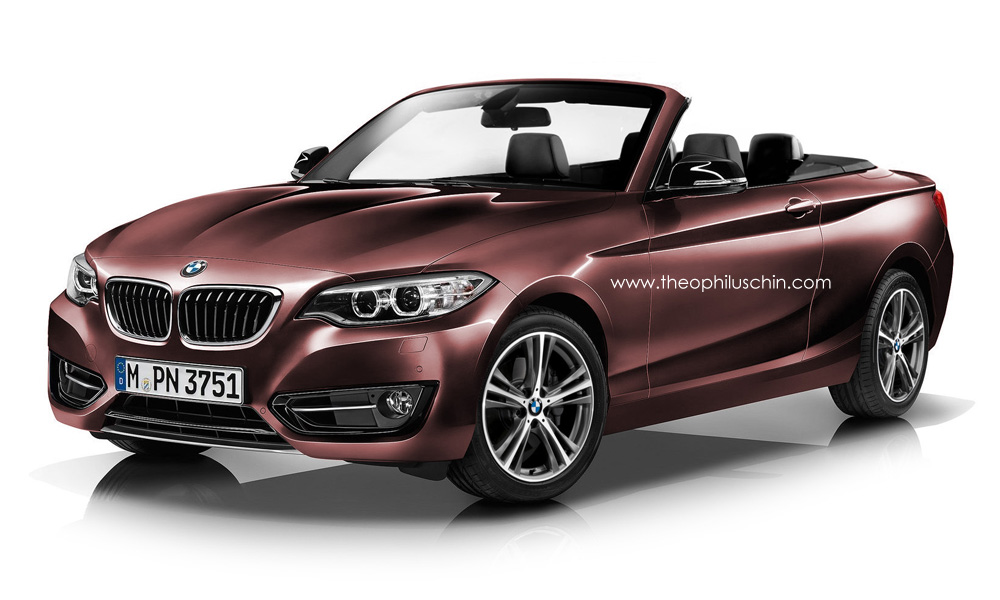 bmw cars news 2 series convertible illustrated. Black Bedroom Furniture Sets. Home Design Ideas