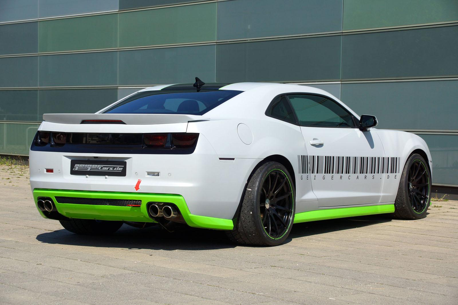 Chevrolet Cars News Geigercars Tuned Camaro Ls9