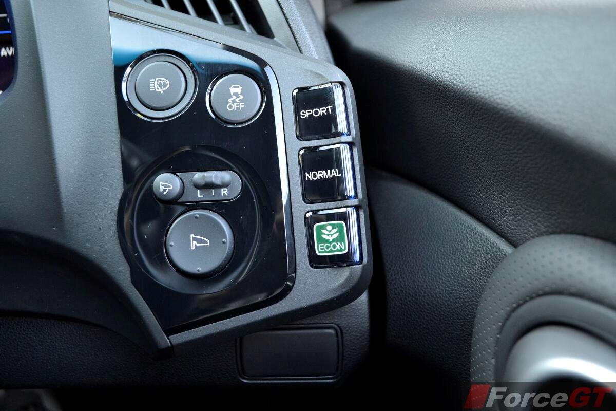 Honda CR Z Review 2013 Honda CR Z 3 Mode Drive System