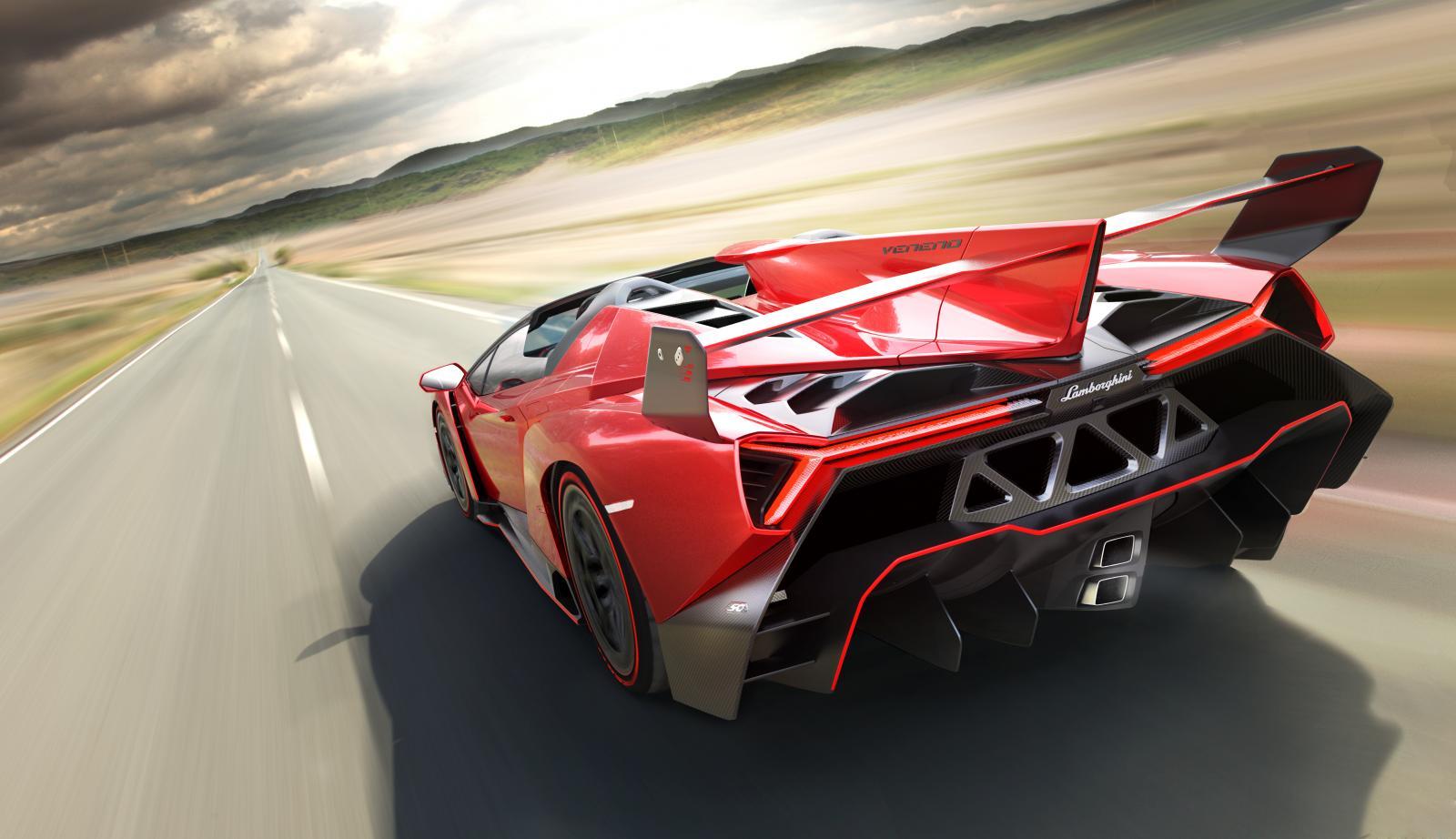 Lamborghini Cars News Veneno Roadster Unveiled
