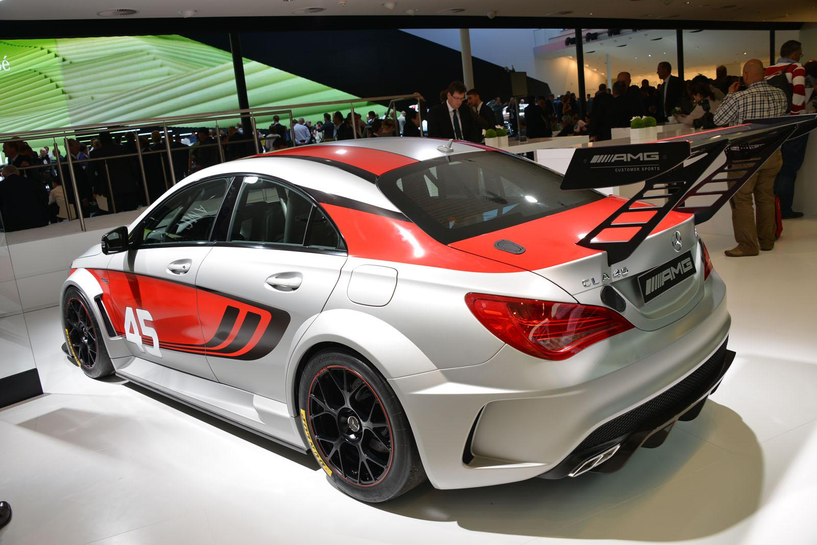 mercedes cars news hardcore version cla 45 amg under. Black Bedroom Furniture Sets. Home Design Ideas