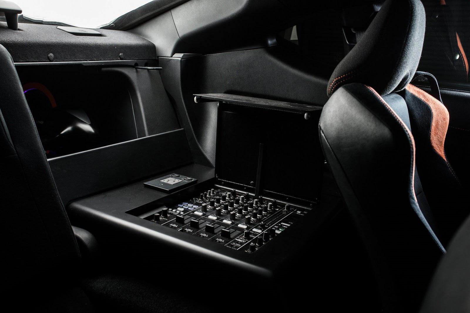 Scion x FR-S interior mixing station - ForceGT.com