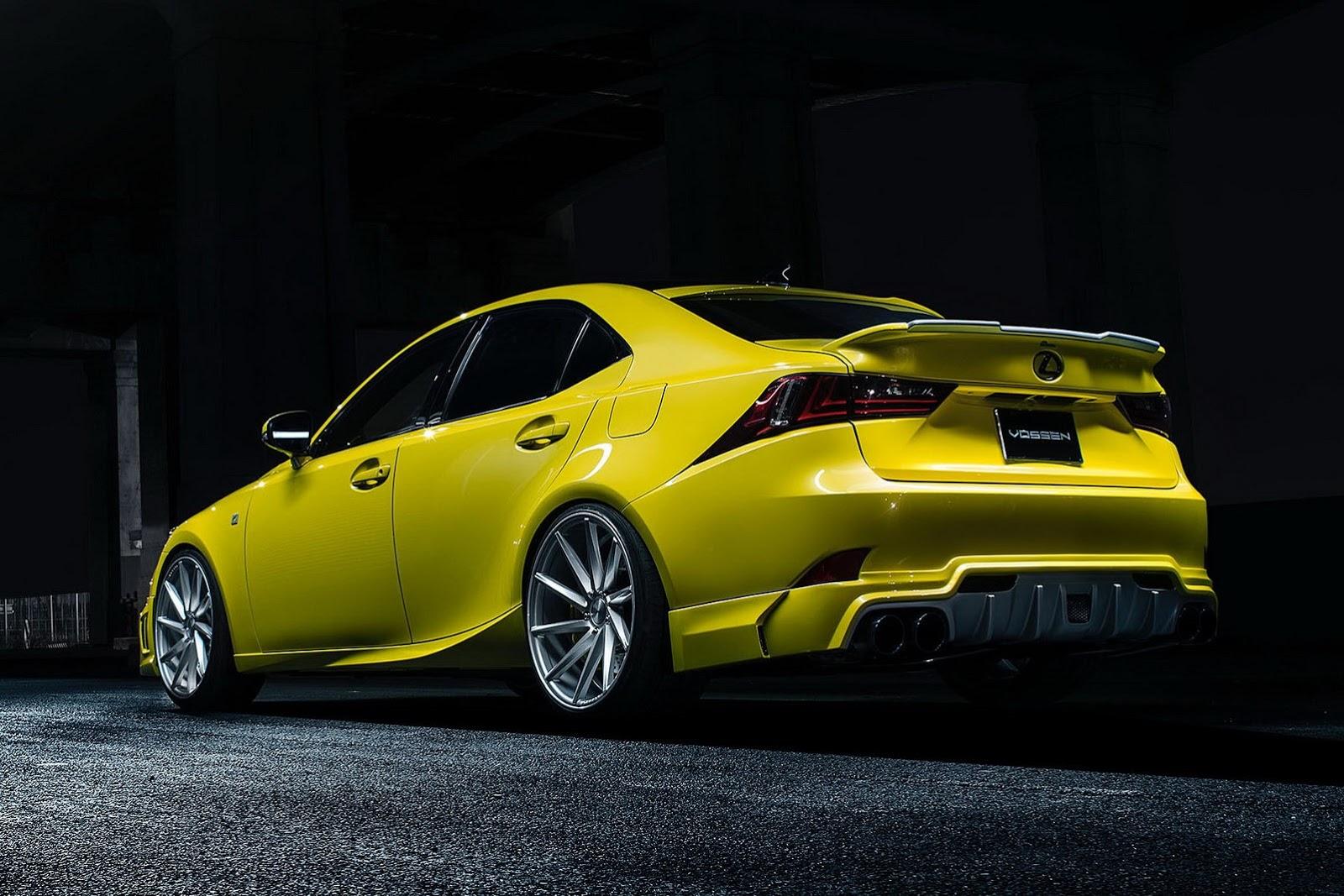 Lexus Cars News Customised Sedans For 2013 Sema Show