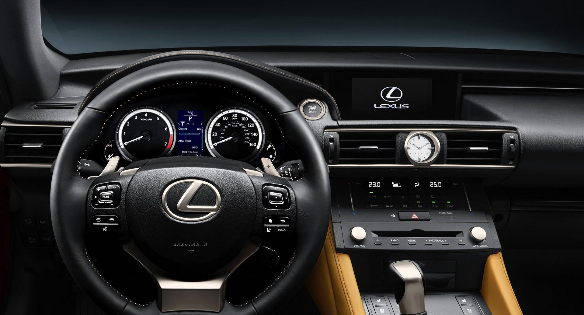 Lexus Cars  News RC Coupe officially unveiled