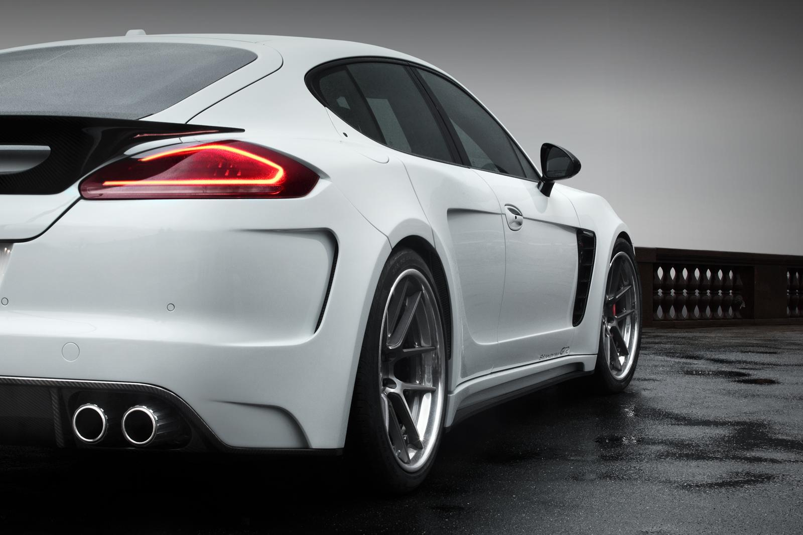 2014 porsche panamera interior car tuning - Inside The Car S Interior Can Be Tailored To Customer S Preferences While Engine Upgrades That Increases Power Up To 522kw Is Also Available