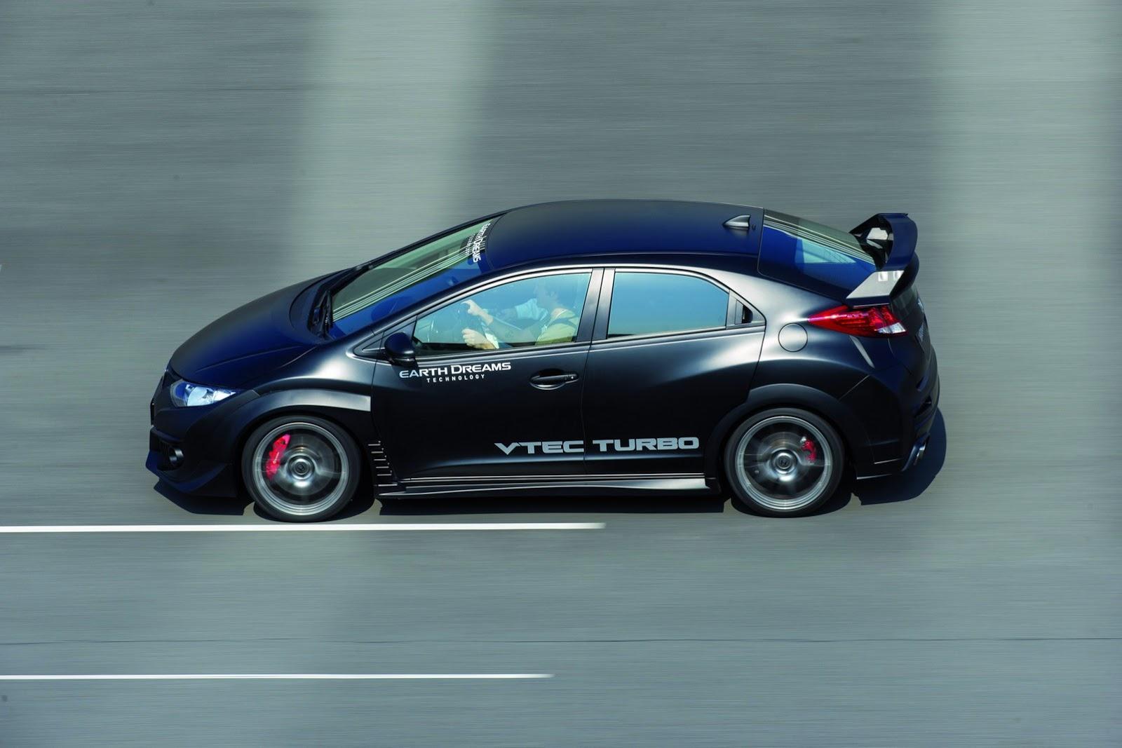 honda cars news 2015 civic type r unveiled. Black Bedroom Furniture Sets. Home Design Ideas