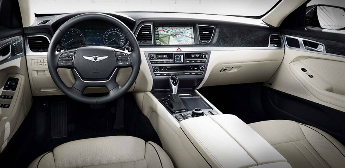 All New Hyundai Genesis Interior