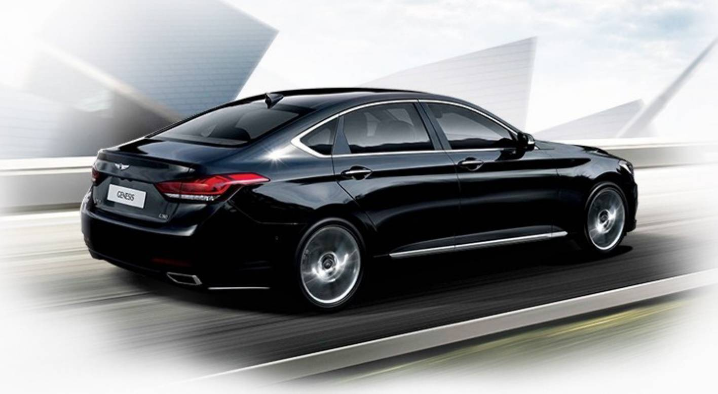 Hyundai Cars News All New 2014 Genesis Officially Revealed