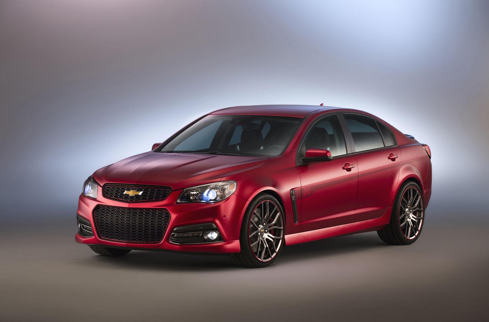 Jeff Gordon Chevrolet >> Chevrolet Cars - News: Commodore-based Gordon SS concept