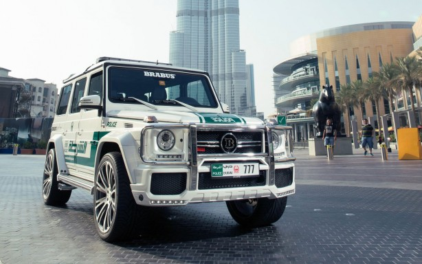 Mercedes Cars News Dubai Police S Brabus B63s 700 Widestar