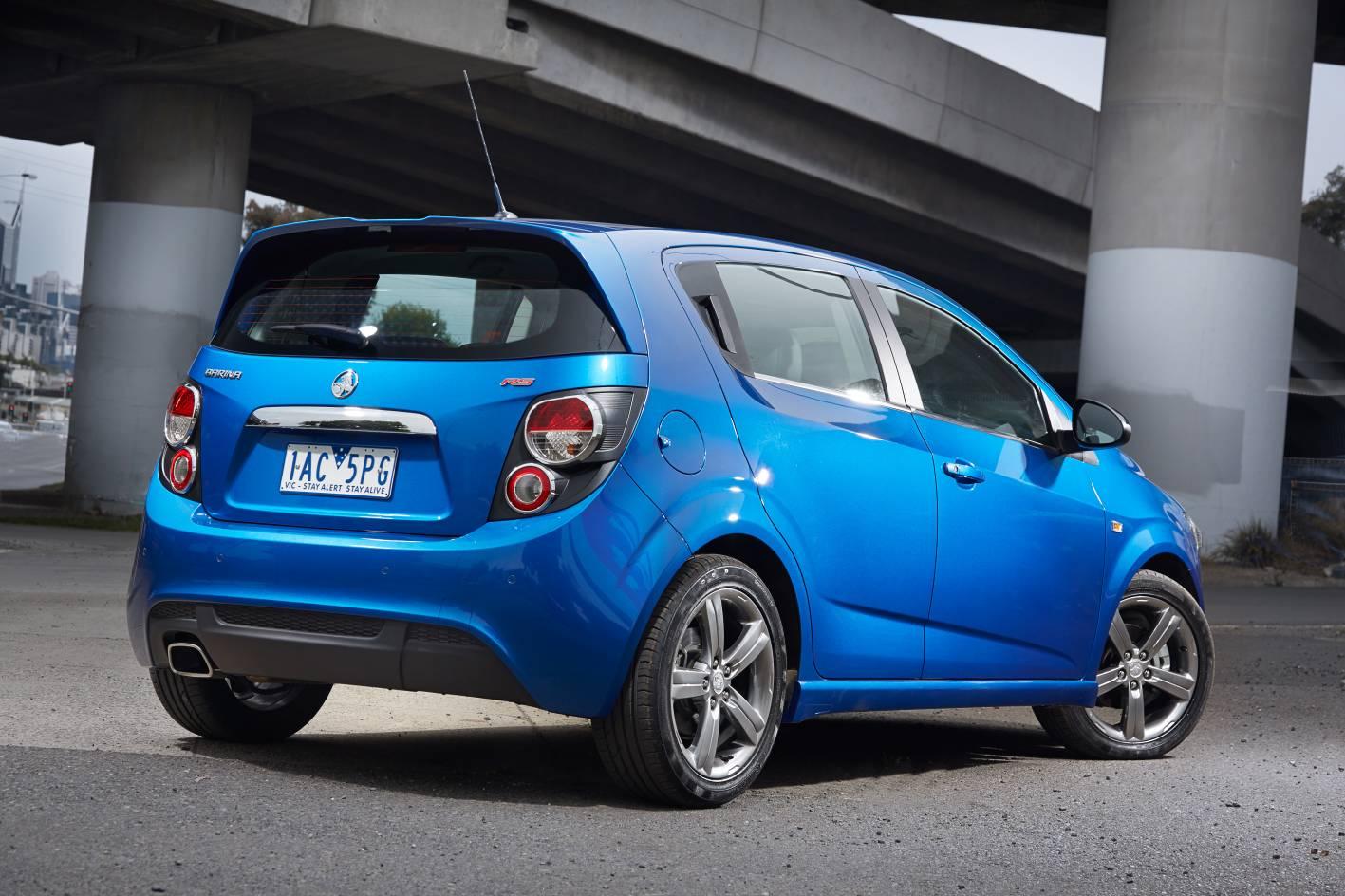Holden Cars News Turbocharged 2014 Holden Barina Rs