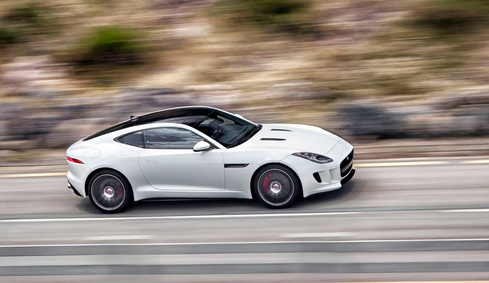 Jaguar F Type Coupe White Forcegt Com
