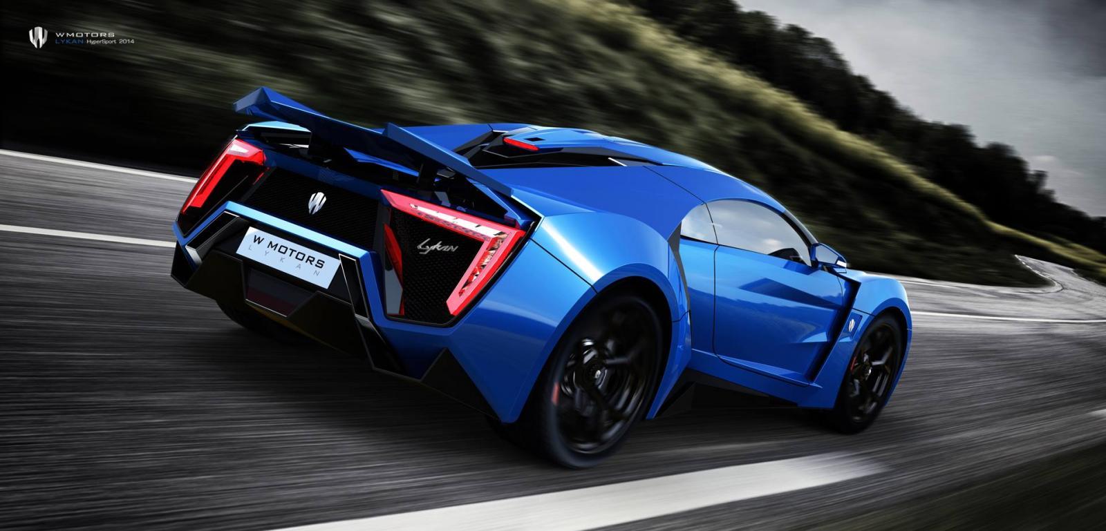 W Motors Cars News 3 4m Lykan Hypersport Arab Supercar
