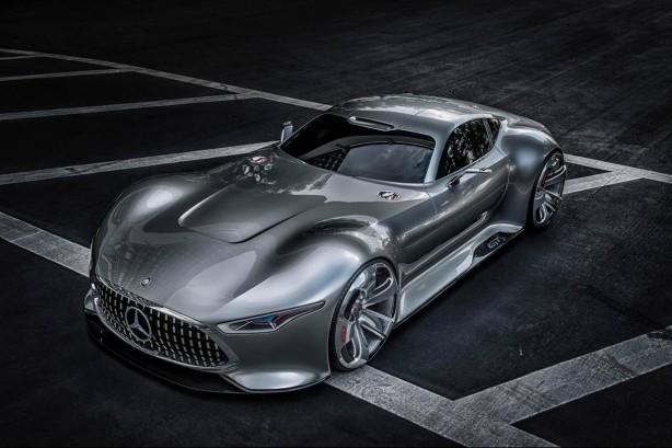 Mercedes-Benz AMG Vision Gran Turismo front quarter
