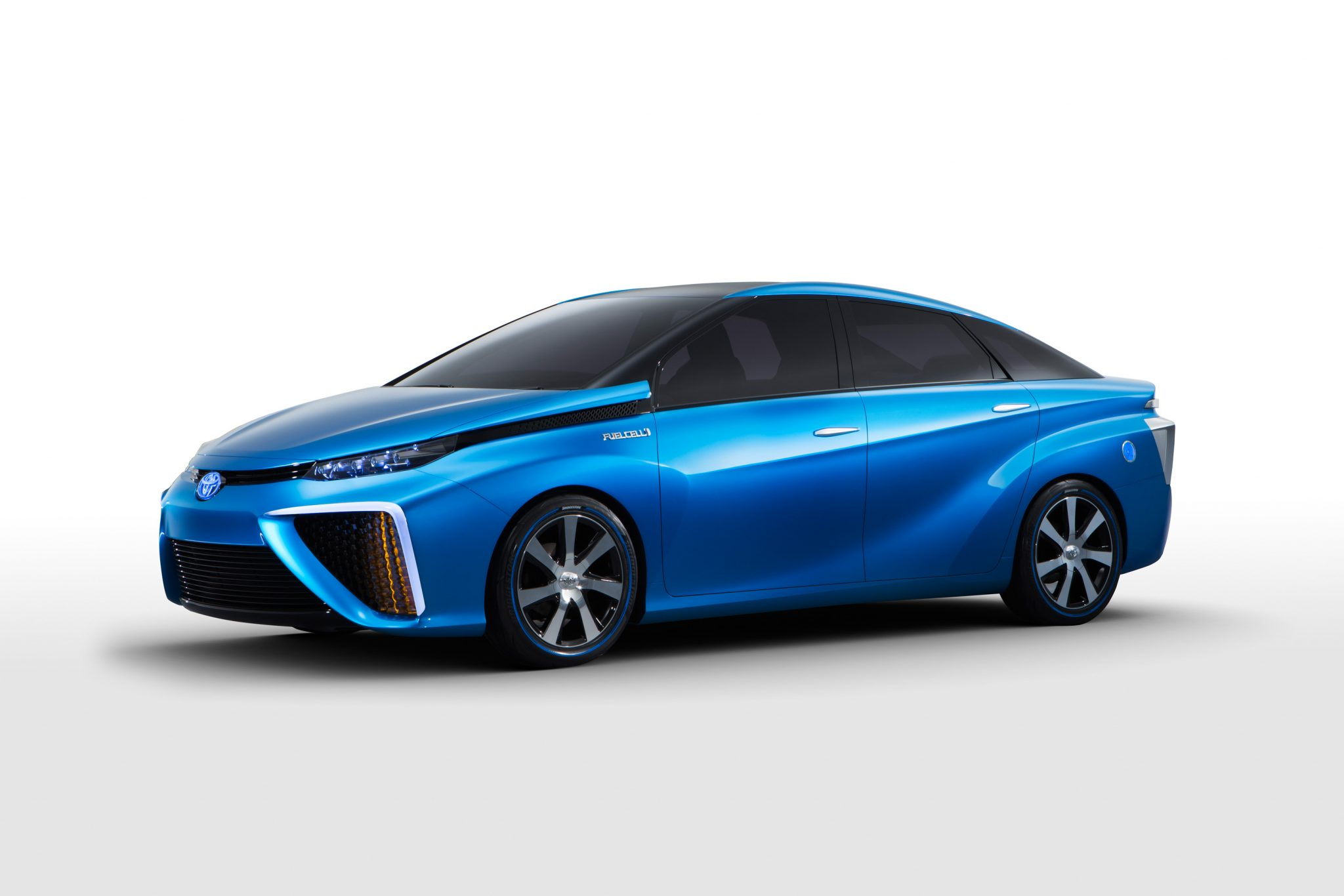 Toyota Cars News Hydrogen Powered Fcv Concept