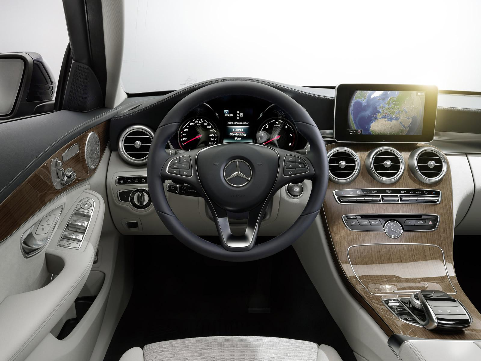 2014 mercedes benz c class interior. Black Bedroom Furniture Sets. Home Design Ideas