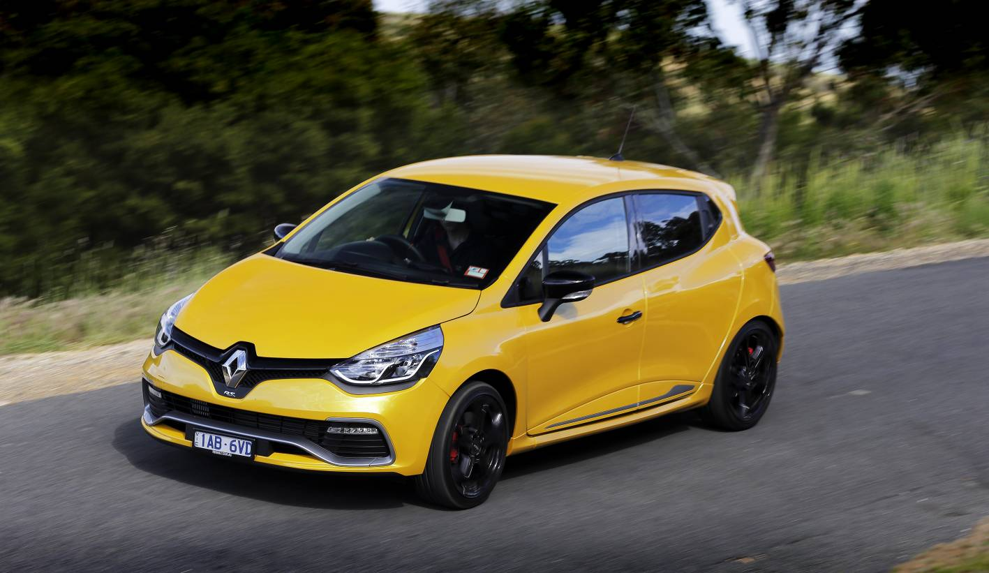 2014 renault clio r s 200 cup trophy front quarter. Black Bedroom Furniture Sets. Home Design Ideas