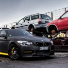 BMW M135i by Manhart front quarter