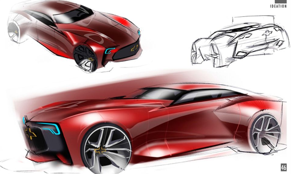 Next Generation Chevrolet Camaro Sketch 1 Forcegt Com