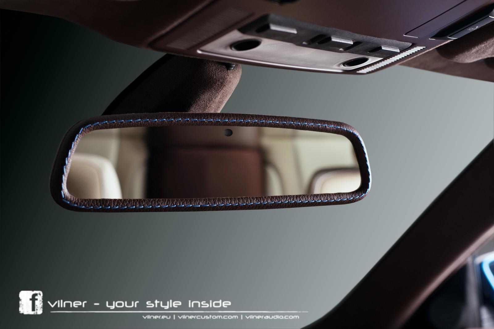 vilner tuned bmw 6 series bullshark interior rear view mirror. Black Bedroom Furniture Sets. Home Design Ideas