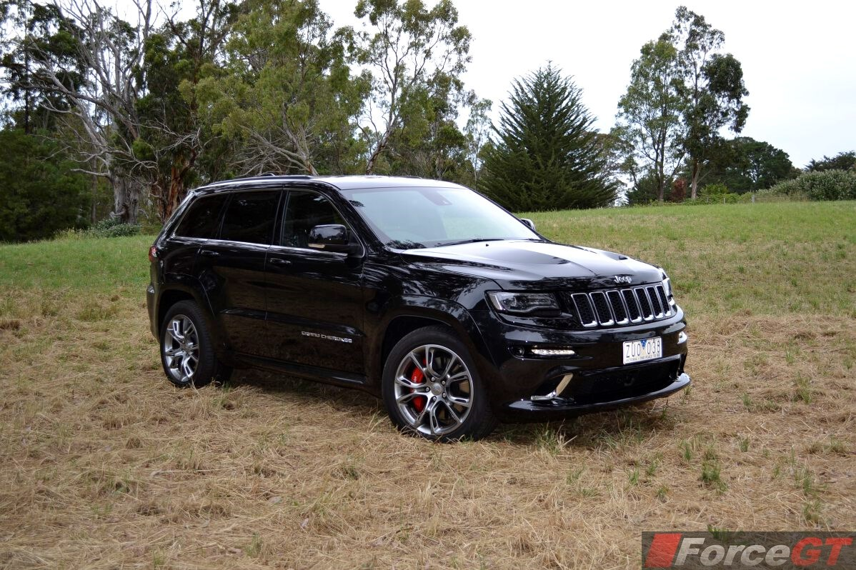 jeep grand cherokee review: 2014 grand cherokee srt8