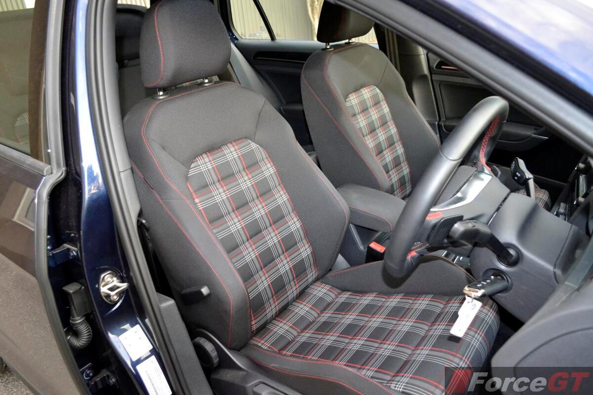 Volkswagen Golf GTI Front Seats ForceGTcom - 2013 volkswagen golf gti interior