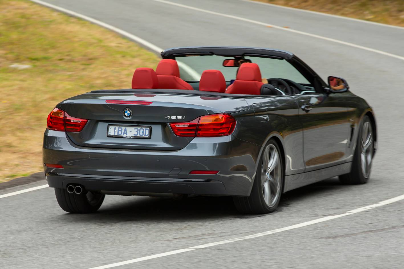 2014 bmw 4 series convertible 428i rear quarter. Black Bedroom Furniture Sets. Home Design Ideas