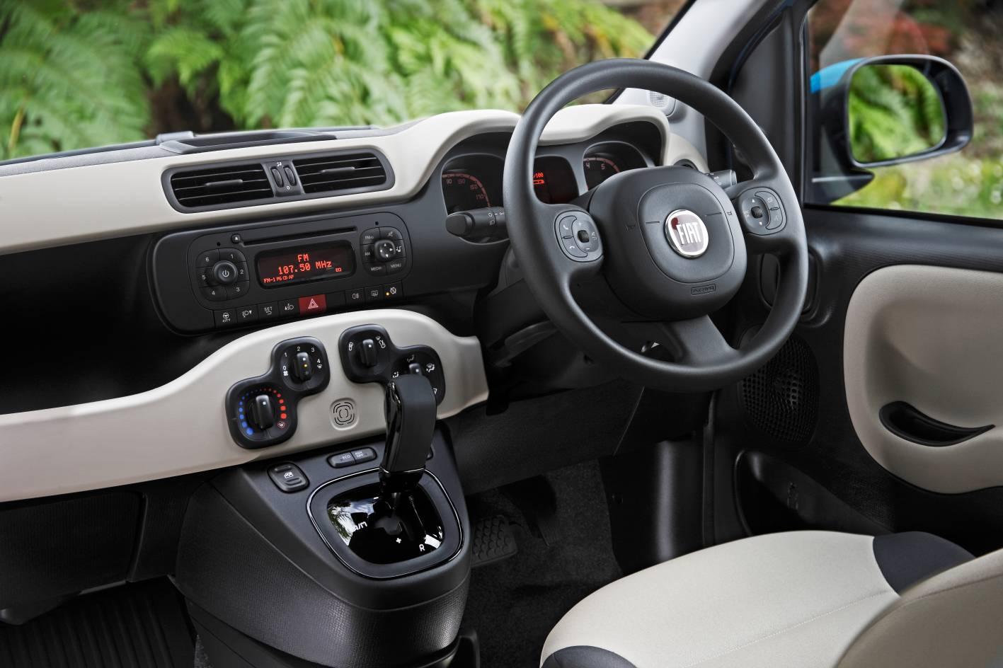Fiat Panda Easy Interior 2014 Fiat Panda Easy Interior