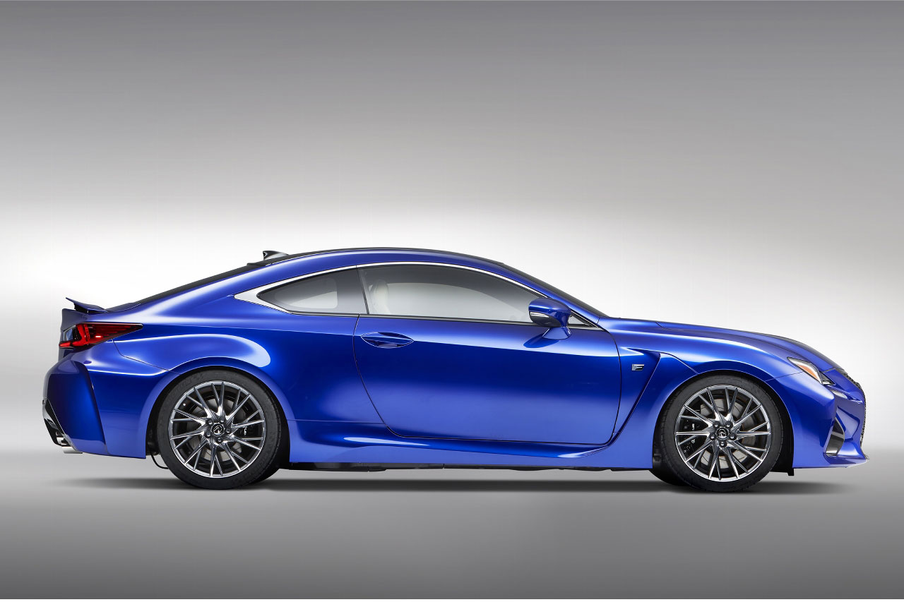 Lexus RC FS ng twin-turbo V8 coming in 2017?
