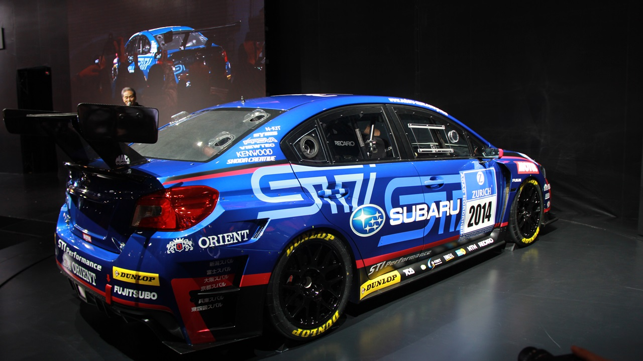 2015-subaru-wrx-sti-racing-car-rear-quarter - ForceGT.com