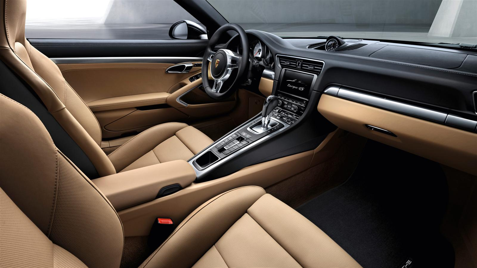 Black Porsche 911 Targa 4s Interior Forcegt Com