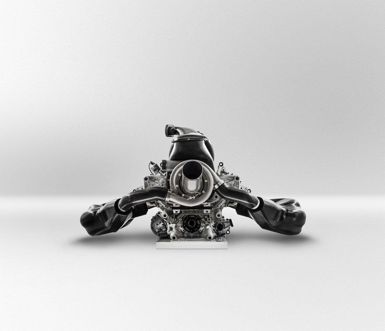 Renault Formula 1: Renault F1-2014 Engine-4