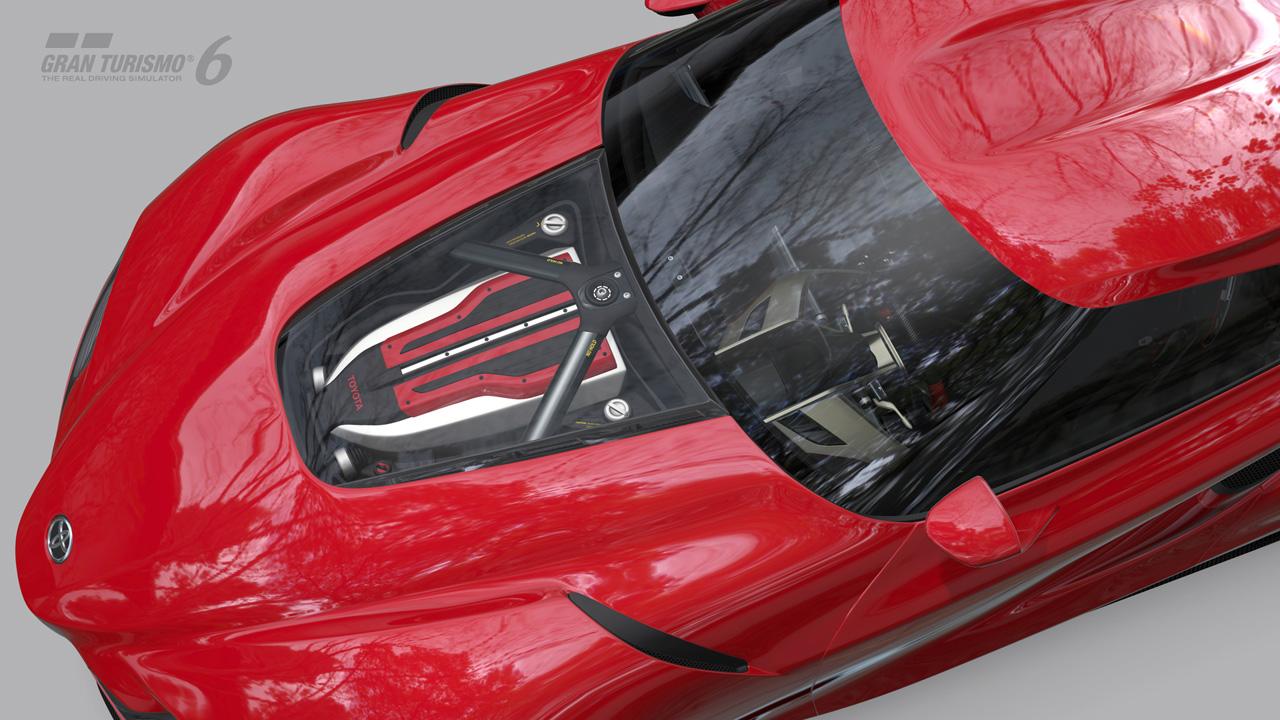 Toyota FT-1 Concept engine on Gran Turismo 6 - ForceGT.com