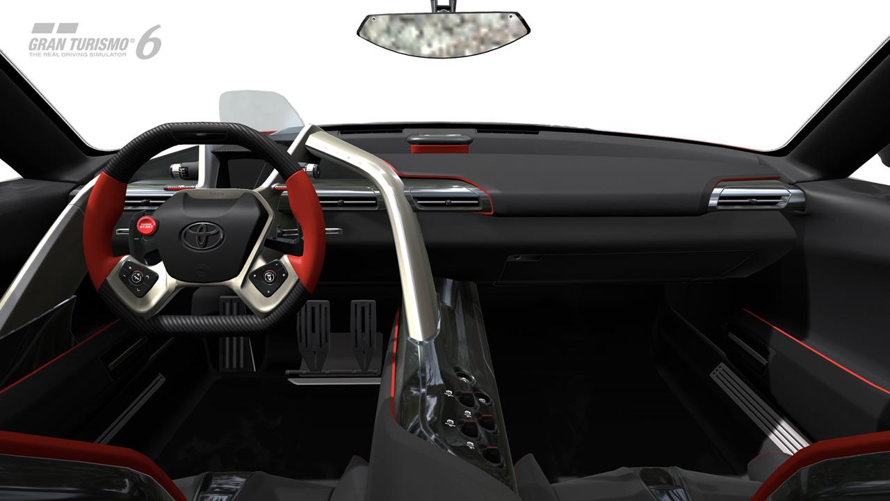 Toyota ft 1 concept interior on gran turismo 6 - Turismo interior ...