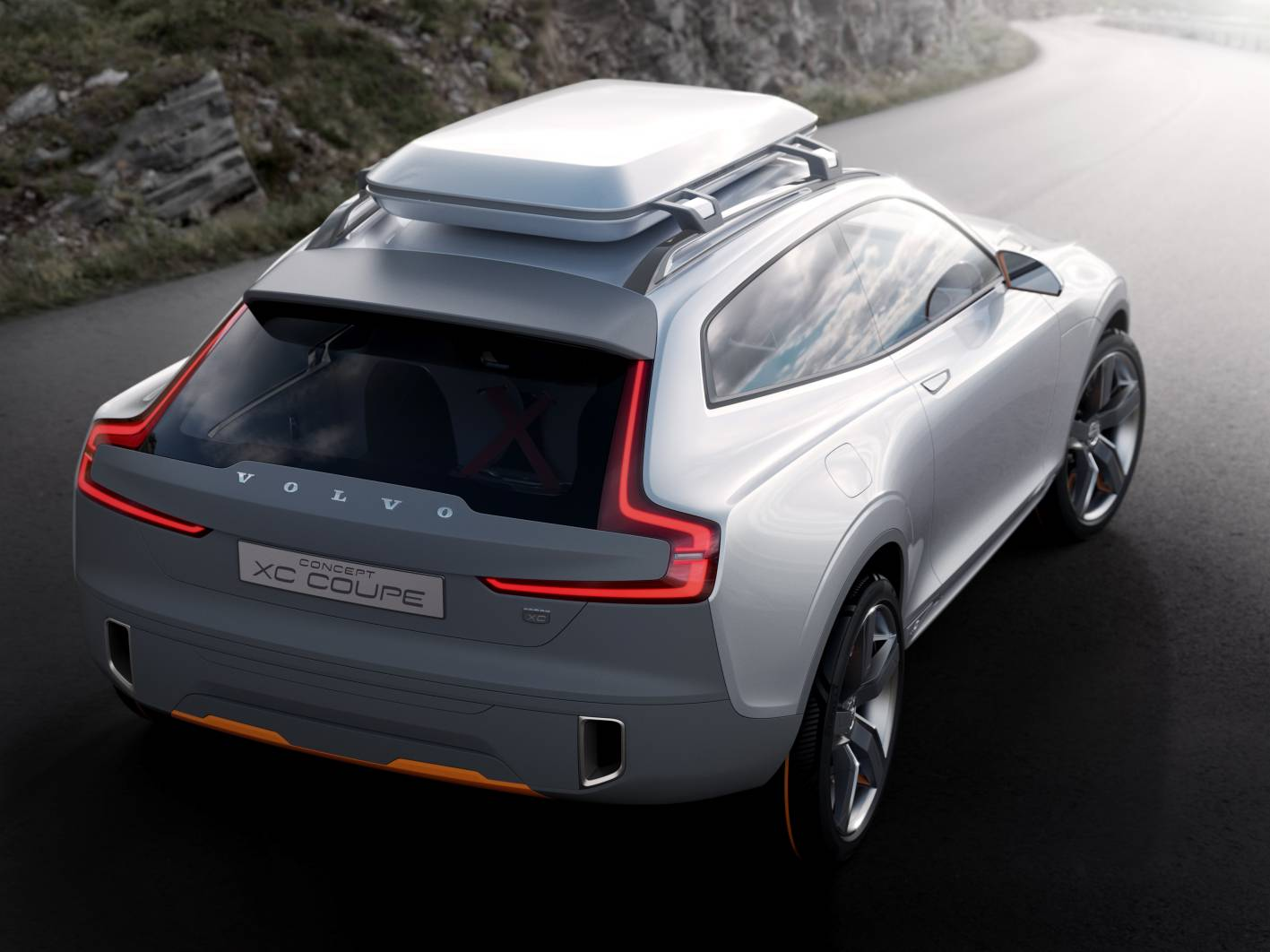 volvo cars news concept xc coup to preview new xc90. Black Bedroom Furniture Sets. Home Design Ideas