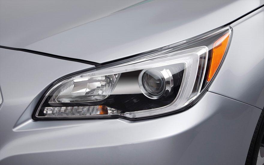 2015 Subaru Legacy Liberty Leaked Image Headlight