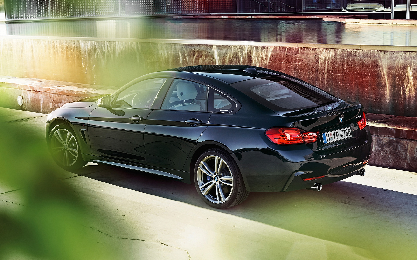 bmw 4 series gran coupe wallpaper rear quarter2. Black Bedroom Furniture Sets. Home Design Ideas